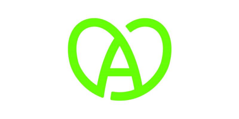 A Coeur vert 1600 par 800