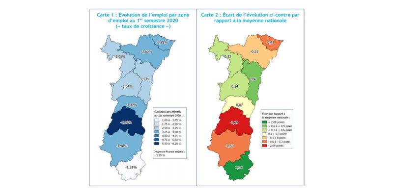 Cartes zones emploi 1er sem2020 couv