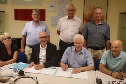 Signature de la convention CC de la Vallée de la Doller et du Soultzbach