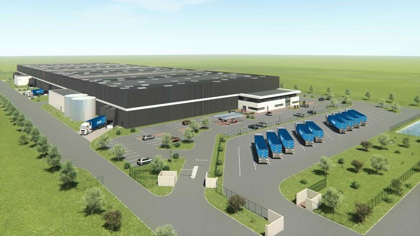 Hager Group - Plateforme logistique à l'EcoParc Rhénan à Reischstett