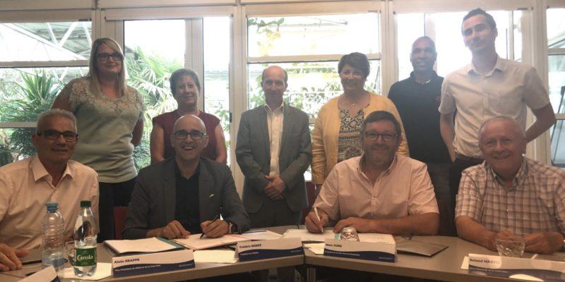 Signature de la convention CC de la Région de Guebwiller