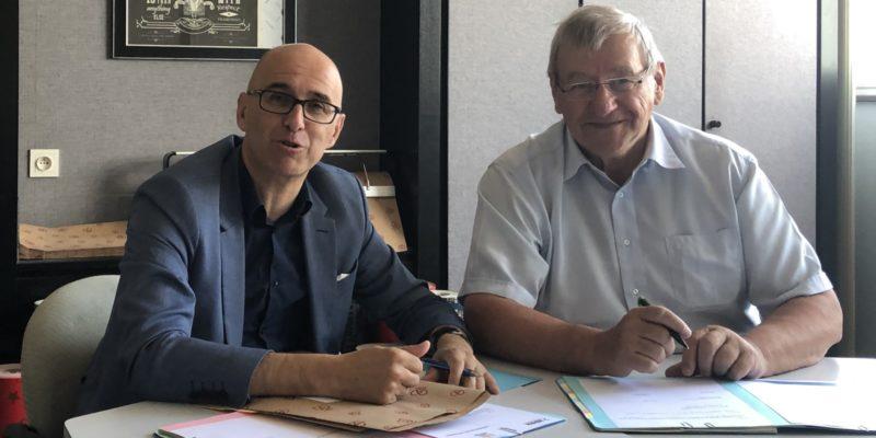 Signature de la convention CC du Centre Haut-Rhin